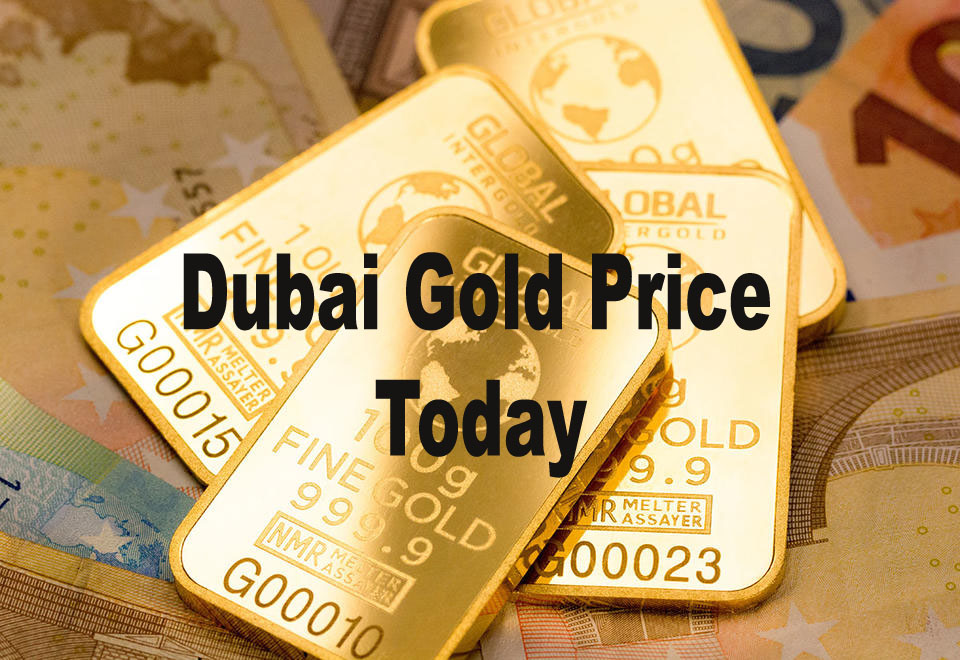 24k Gold rate in Dubai today