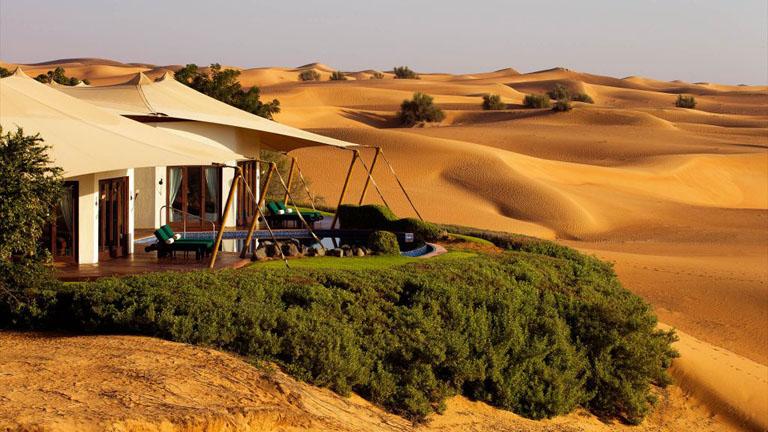 Dubai Desert Conservation Reserve suits