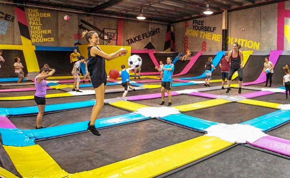 THE TRAMPOLINE PARK dubai