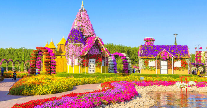 dubai miracle garden ticket price