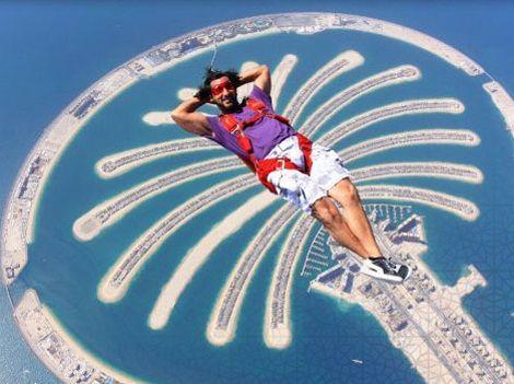 skydive adventure the palm dubai