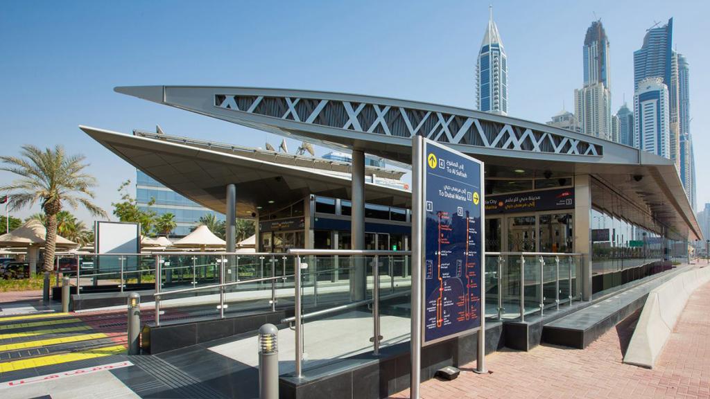 dubai tram stations
